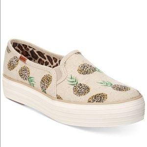 🌿Keds Triple Decker Pineapple Slip On Size 7🌿